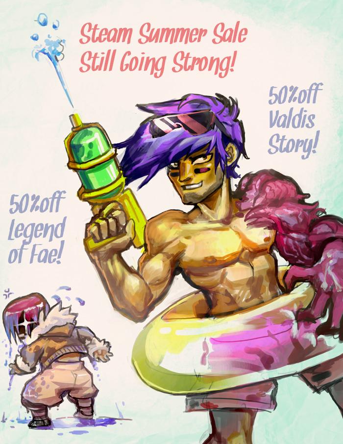 drawing games on steam Quick Reminder Steam Summer Sale Still Going